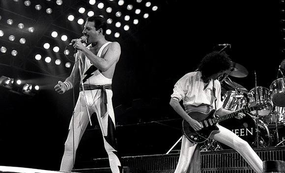Tony Mott, Queen 1986